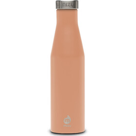 MIZU S6 - Recipientes para bebidas - with Stainless Steel Cap 600ml naranja